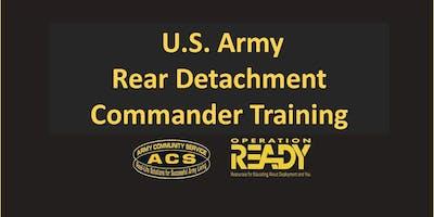 OPREADY: Rear Detachment Commander Training