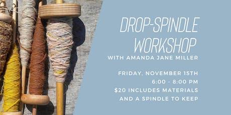 Drop Spindle Workshop tickets