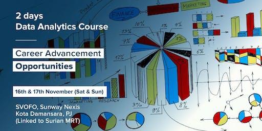 Data Analytics : Career Advance Opportunities (Weekend Class)