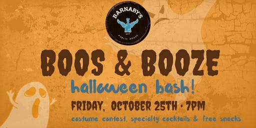 Boos & Booze Halloween Bash & Costume Party