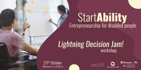 StartAbility: Entrepreneurship for disabled people tickets