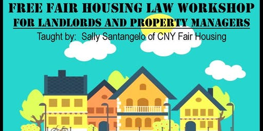 Free Fair Housing Workshop for Landlords & Property Managers
