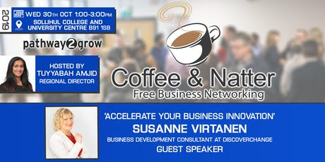 Solihull Coffee & Natter - Free Business Networking Wed 30th Oct 2019 tickets