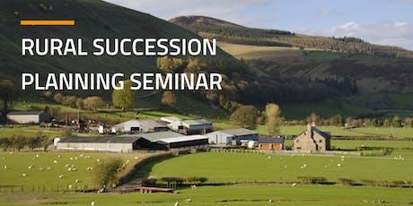 Rural Succession Planning Seminar - Monmouth tickets