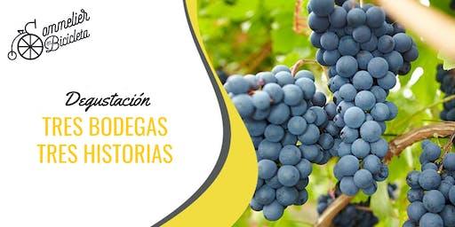 Degustación de Vinos: Tres Bodegas, Tres Historias
