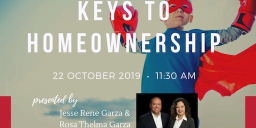 Keys to Homeownership presented by The Garza Home Team at RE/MAX North SA
