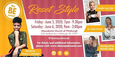 The BE Event: Reset Style  tickets
