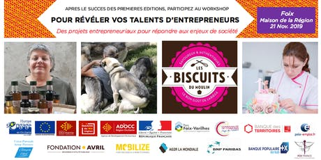 L'atelier (workshop) pour révéler les talents d'entrepreneurs de l'Ariège billets