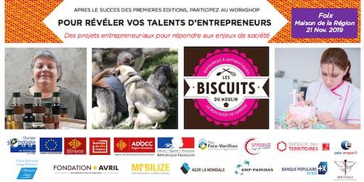 L'atelier (workshop) pour révéler les talents d'entrepreneurs de l'Ariège