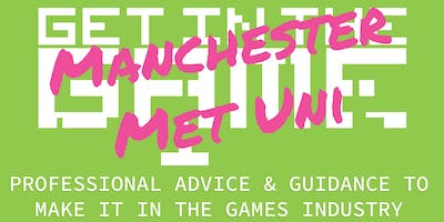 Get In The Game Careers Talks; Manchester Metropolitan University