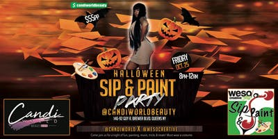 Sip & Paint Halloween Party
