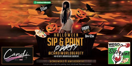 Sip & Paint Halloween Party tickets