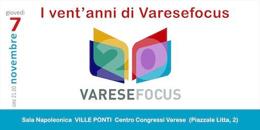 I 20 anni di Varesefocus