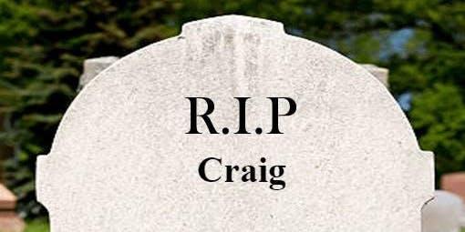 Craig Harris is RETIRING...