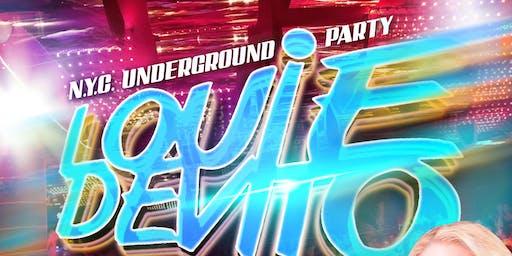 Louie DeVito's N.Y.C. Underground Party at Aura!