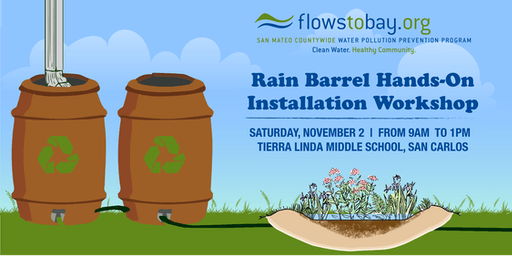 Rain Barrel  Installation Workshop