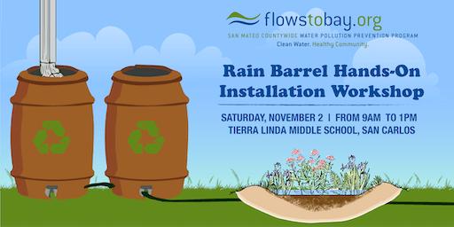 Rain Barrel  Installation Workshop