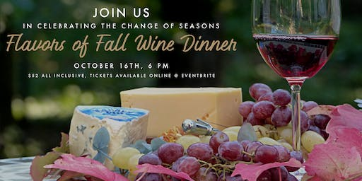Flavors of Fall Wine Dinner