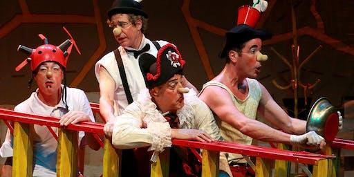 DESCONTO: Os Mequetrefe - Parlapatões, no Teatro MorumbiShopping