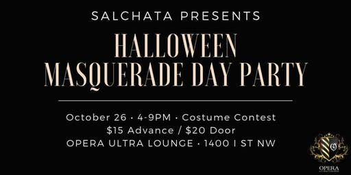 SALCHATA EVENTS HALLOWEEN DAY PARTY || 10.26.19