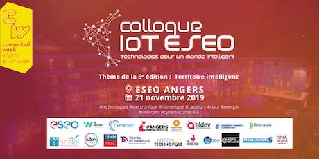 5ème COLLOQUE IoT ESEO - INSCRIPTION VISITEUR billets