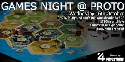 Games Night @ PROTO