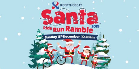 Keepthebeat Santa Ride, Run, Ramble 2019 tickets