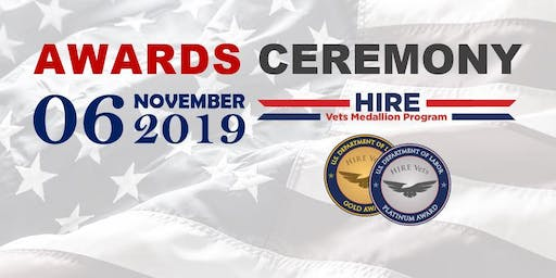 2019 HIRE Vets Medallion Awards Ceremony