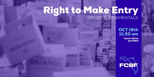 Lunch and Learn: Right to Make Entry