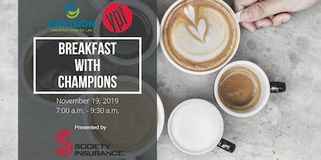 YPF Breakfast with Champions tickets