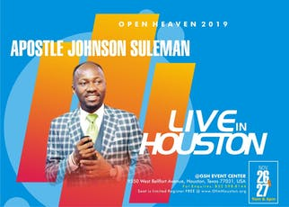 Open Heavens 2019  Houston, Texas tickets