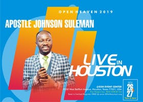 Open Heavens 2019  Houston, Texas