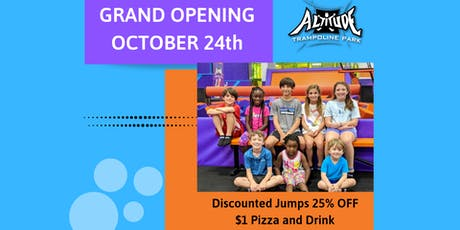 Altitude Trampoline Park Grand Opening Party! tickets