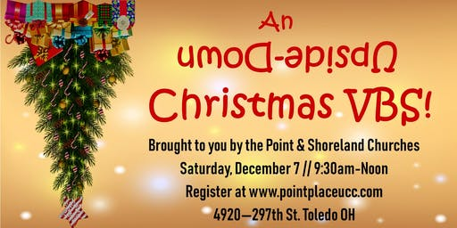 An Upside-Down Christmas VBS