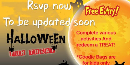 Halloween Fun Treat  @ Pasir Ris Sports Centre