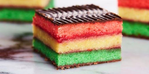 Rainbow Cookie Baking Class at Soule' Studio