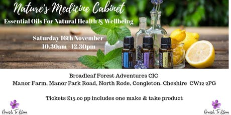 Nature's Medicine Cabinet - Essential Oils for Natural Health & Wellbeing tickets