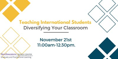 Teaching International Students: Diversifying Your Classroom
