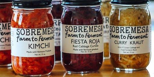 Intro to Veggie Fermentation with Sobremesa