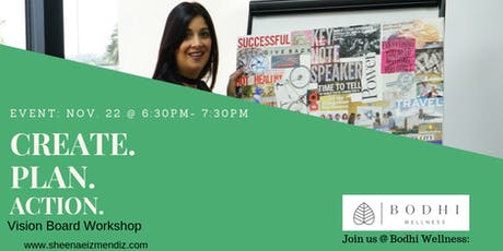 Create. Plan. Action. Vision Board Workshop tickets