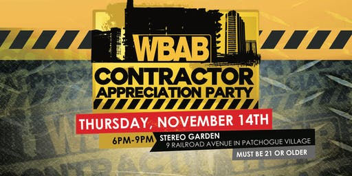 WBAB Contractor Appreciation Party