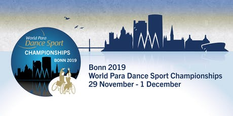Bonn 2019 World Para Dance Sport World Championships Tickets