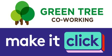 Make it Click digital skills and co-working morning tickets