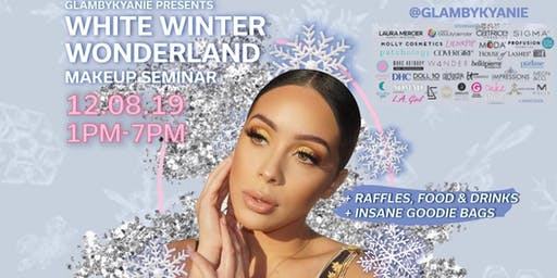 ALL WHITE WINTER WONDERLAND MAKEUP SEMINAR | PRESENTED BY: @GLAMBYKYANIE