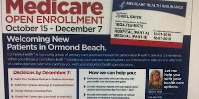 Medicare Agent on Duty - ORMOND MEDICAL ARTS