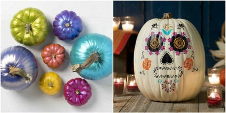 Pumpkin Painting and Pizza Party tickets
