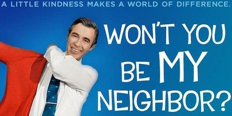 Film Talks Series - Won't You Be My Neighbor? tickets