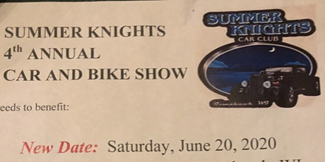 Summer Knights Annual Car and Bike Show tickets
