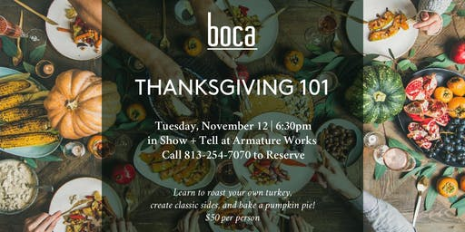 Boca Thanksgiving 101