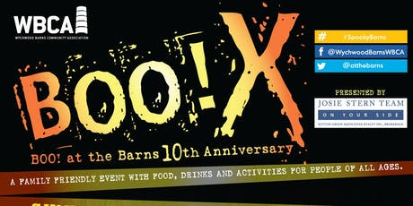 Boo X! Boo! At the Barns 10th Anniversary! tickets
